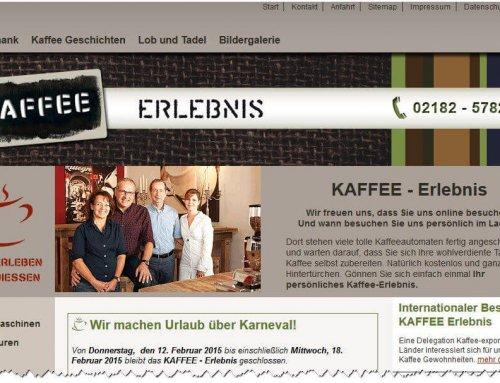 KAFFEE ERLEBNIS